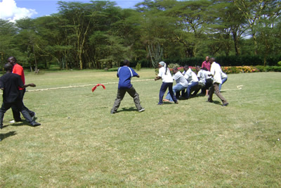 Team building kenya team building in kenya team - Impala club nairobi swimming pool ...